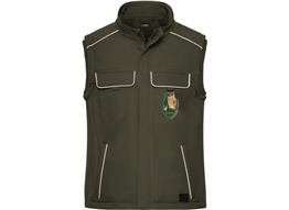 Workwear Softshell Gilet -Solid:      Workwear Softshell Gilet -Solid-   Material: 320g/m², 100% Polyester