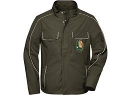 Workwear Softshell Light Jacke -Solid:      Workwear Softshell Light Jacke -Solid-   Material:250g/m², 100% Pol