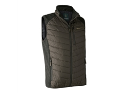 Moor Padded Waistcoat W.Knit  Preise Exkl. Mwst.:   Das dehnbare Material an der Schulter und an den Seitenteilen bietet zusätzl