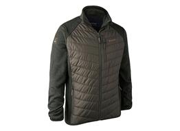 Deerhunter Moor Padded Jacket w.Knit Herren:   Deerhunter Moore-Jacke mit Strick ist die perfekte Après-Jagd-Jacke. Bequeme