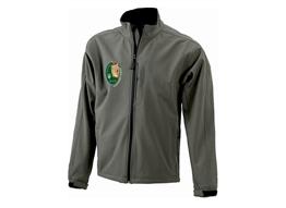 Herren 3-Lagen Softshell Jacke:   Herren 3-Lagen Softshell Jacke   Material:330g/m², 95% Polyester, 5% Elas
